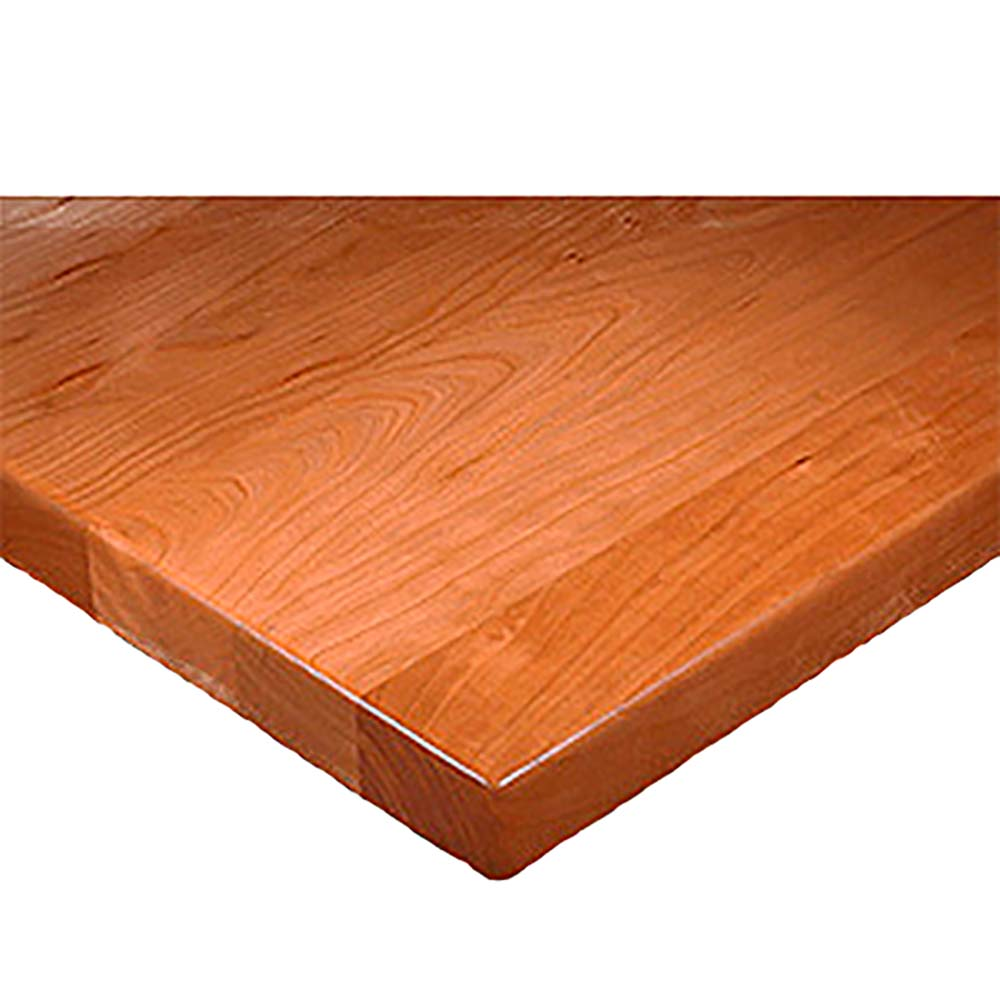 Table Top Square X Thick Continuous Pattern - Thick wood table top