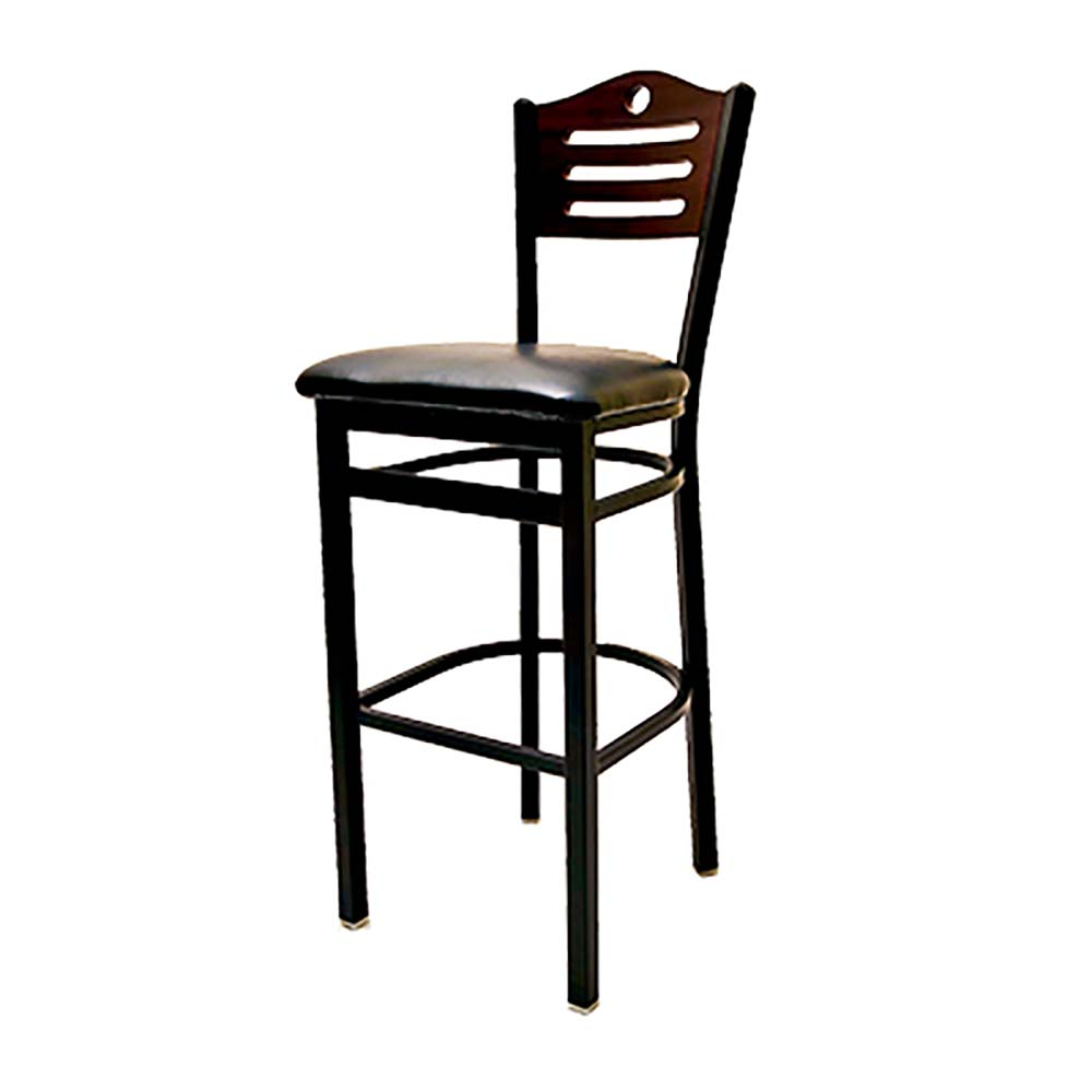 Oak Street Sl2150 1 Sh Shoreline Wood Back Barstool