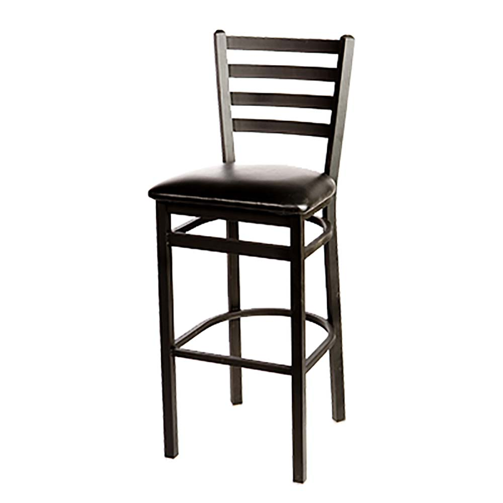 Oak Street Sl2301 Ladderback Barstool W Footrest