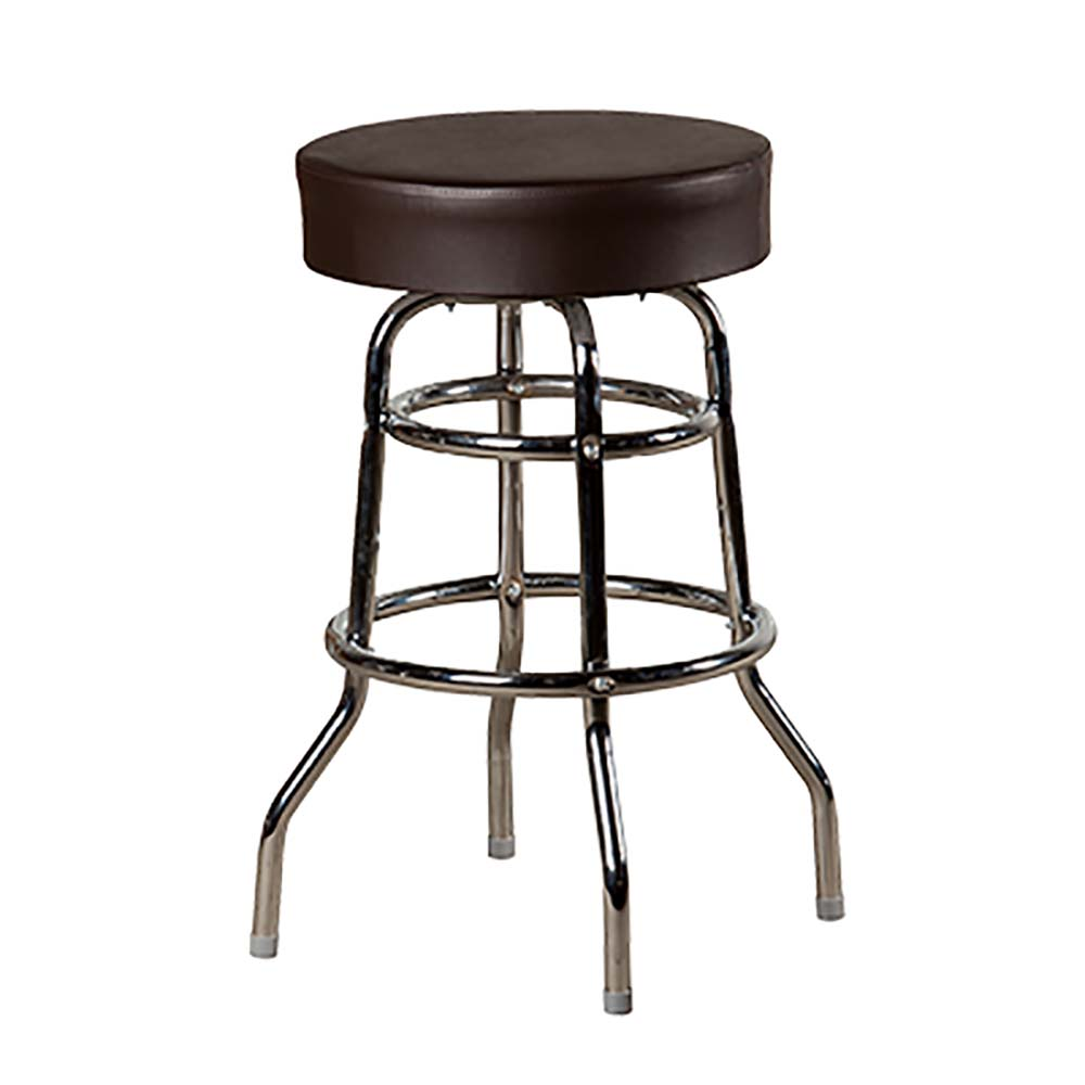 oak street sl3129 esp swivel bar stool backless xl upholstered