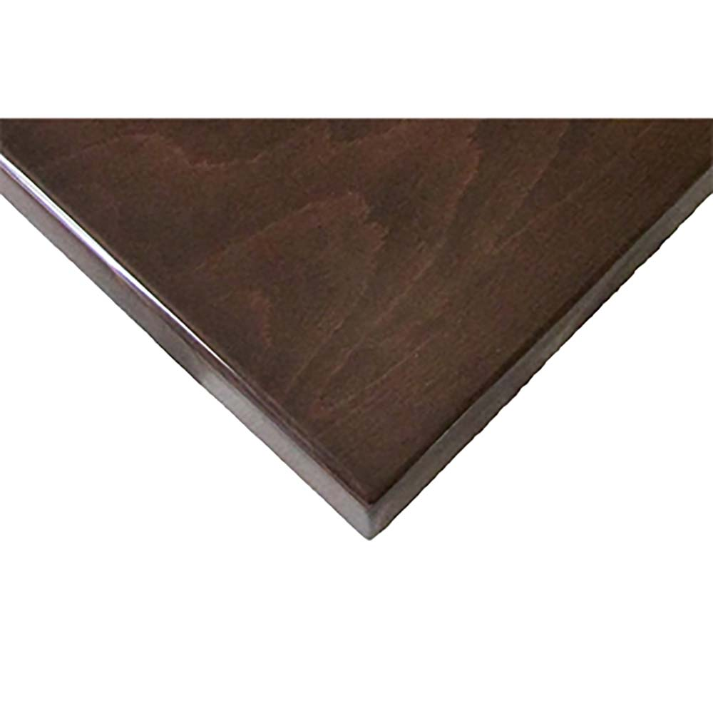 Oak Street UV3636 WAL   Table Top, Square, 36 Inch X 36 Inch