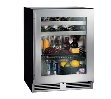 Perlick HB24BS   Undercounter Beverage Center, 4.8 Cubic Feet