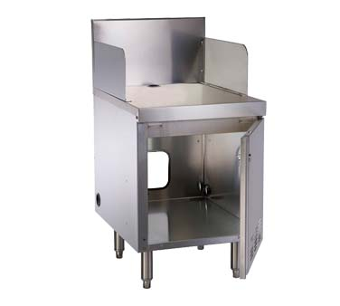 Perlick TSF18POS   POS Cabinet, 18 Inch W, Reinforced Top, 6 Inch X