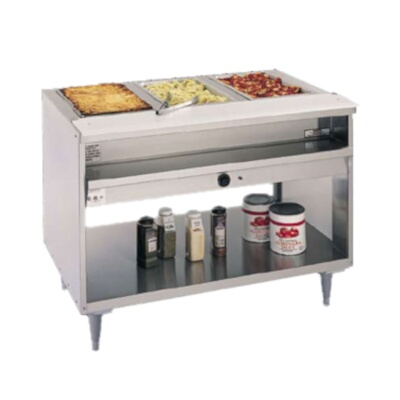 Randell Hot Food Table Electric V L D - Electric hot food table
