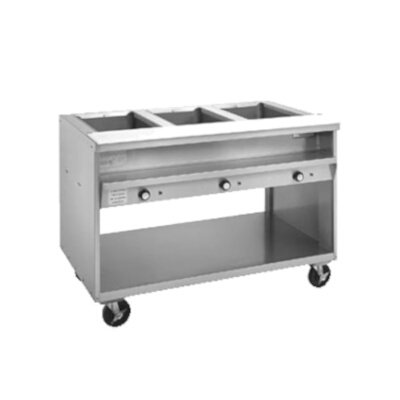 Randell Hot Food Table Electric V L D - 2 well steam table