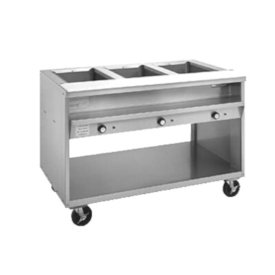 Randell Hot Food Table Electric V L D - 4 well gas steam table