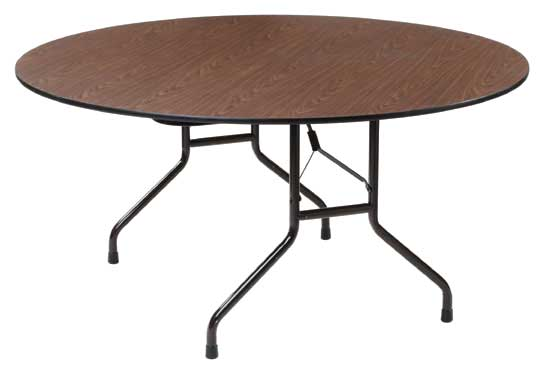 Royal COR BT 60 R - Folding Round Top Banquet Table, 60 in.