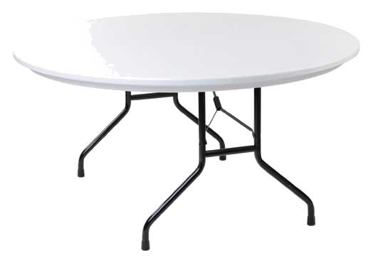Royal COR BT P 60 R - Round Folding Banquet Table with ...