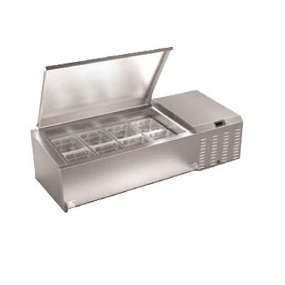 tr60 serv ware refrigerator rail x x 13 5 h accommodates 12 pans. Black Bedroom Furniture Sets. Home Design Ideas