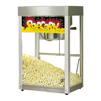 manufacturing popcorn machine model 39 parts
