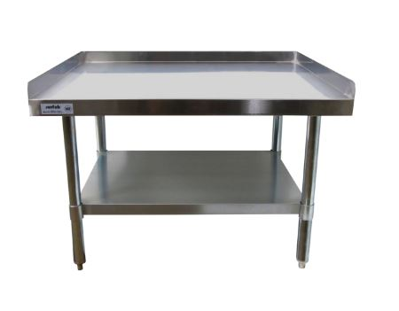 SFES SunFab Equipment Stand W X L X H Gauge - 16 gauge stainless steel table