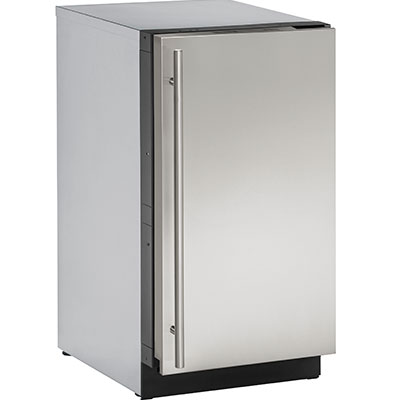 Uline U 3018CLRS 40B   Clear Ice Machine, 18 Inch, With Right