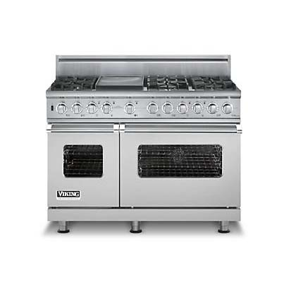 Buy Viking Appliances - VDSC548-6G Viking Range - Custom Dual-Fuel Range with Gridd