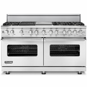 Buy Viking Appliances - VDSC560-6GQ Viking Range - Custom Dual-Fuel Range with Grid