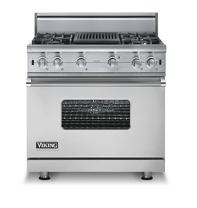 Buy Viking Appliances - VGCC536-4Q Viking Range - Custom Sealed Burner Range with G