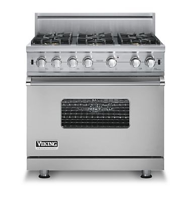 "Buy Viking Appliances - ""VGCC536-6B Viking Range - Custom Sealed Burner Range, Gas 3\"""