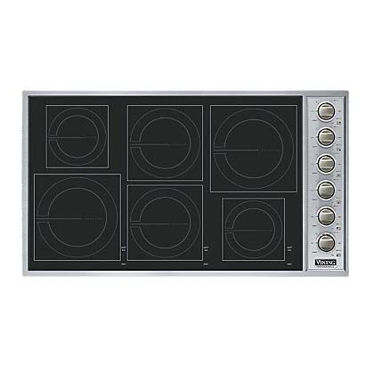 Vicu266 6b viking range induction cooktop electric 36 in for Viking 36 electric cooktop