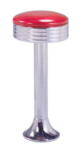 1500 782 Vitro Classic Grooved Ring Stool With Fountain