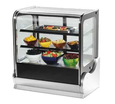 40865 - Cubed Countertop Hot Food Display Case, 36 in.