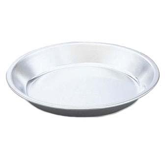 Vollrath 68089 - Pie Plate Aluminum 9 3/4 inch xl 1/  sc 1 st  JES Restaurant Equipment & Pie Plate Aluminum 9 3/4\