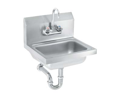 Vollrath K1410 CP   Hand Sink, Wall Mounted, 17 Inch W X