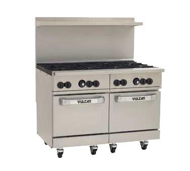 Vulcan Countertop Oven : Vulcan Hart 48SS-8B - Endurance 48 in. Range w/8 Burners & 2 Standard ...