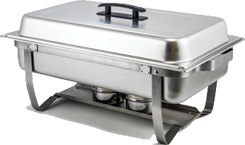 winco c4080 ss chafer 8 qt full size complete set