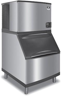 Manitowoc Id 0452a B 970 K 00369 420 Lb Ice Maker W 710 Lb Bin Adapter