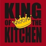 2072 LA Imprints - King of the Kitchen apron