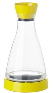 "E508954 Frieling - Carafe, 34 oz., 5-1/2"" x 5-1/2"" x 10"", with cooling coaster keep"
