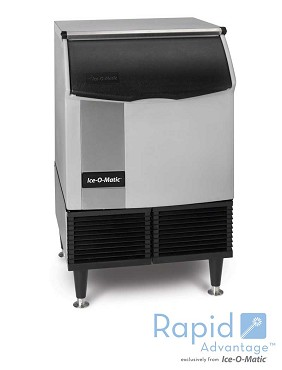 ICEU150HW ICE-O-Matic - Undercounter Ice Maker 175 Lb, with 74 Lb Bin