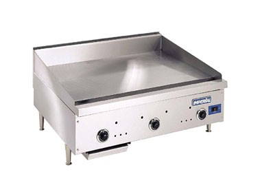 Countertop 24 X 48 : ISAE-48 Imperial - 48 x 24 in. Countertop Gas Griddle, 96,000 BTU