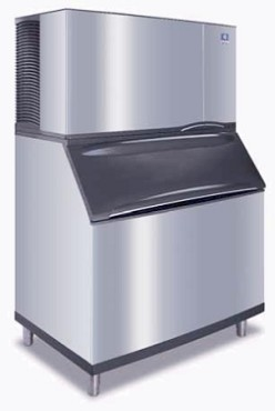 ID-1402A/B-970 Manitowoc - Ice Maker (1450-LB) with Bin (710-LB),  Indigo Series Ice Maker