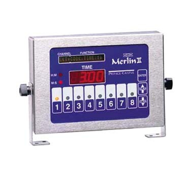 840-T8 Prince Castle - Timer, Electric, 8-channel, multi function. This multi function