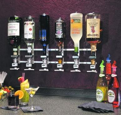 Precision Pourers Wmmo Wall Mount Non Metered Liquor