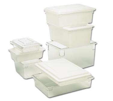 FG330900CLR Rubbermaid - Food/Tote Box- 3-1/2 Gallon