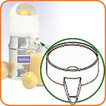 10B Sunkist - Plastic Spout Only, included with part #1 bowl assembly, for Jui
