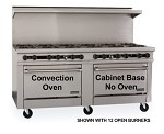 "TMDS72-72G-1C-0 Therma-Tek Range  - Range, 72"" Restaurant, Gas, 72"" griddle w/3/4"" thick steel plate"