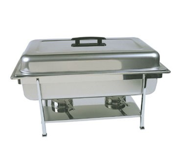 CC-1P Update International - Continental full size stainless steel chafer. Includes: dripless