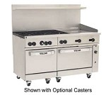 60SS-6B24GT Vulcan - Endurance 6 Burner Restaurant Range w/24 in. Thermostatic Griddle & Dual Standard Ovens, 60 in.