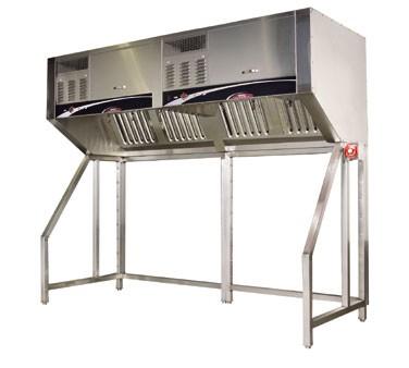 Commercial Ventless Kitchen Exhaust Hoods