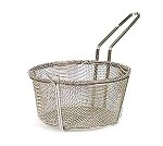 "BFSM-950 Admiral Craft - Six Mesh Fryer Basket, Diameter 10-7/8"", Depth 5-3/4"" made to be"