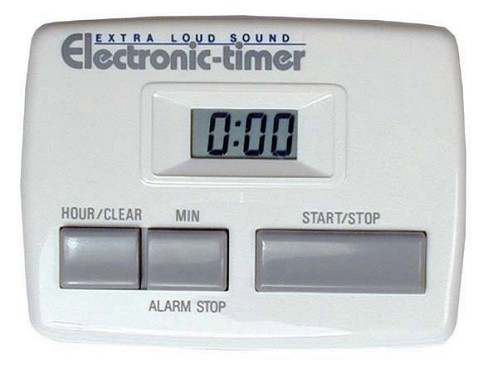 ETR-20 Admiral Craft - Electronic Timer, desk-top, counts down from up to 20 hours in 1