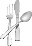 W54-DS/B Admiral Craft - Windsor Soup Spoon, Oval Stainless Steel  (2 Dozen Per Pk.)