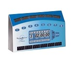 TTS-8 Roundup - TimeTech ST Cooking/Holding Timer, eight-channel, solar powered,