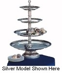 "CLA20-161210-G Apex Fountains - Food Display, Classic Tiered, 4-tier, 27""H. Great for displaying"