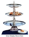 "REN20-1614-G Apex Fountains - Tiered Food Display, Renaissance, 2-tier, 26""H. Great for catere"