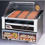 "HRS-31BC APW Wyott - Hot Dog Grill with Bun Cabinet, HotRod, Roller-Type, 23-3/4""W x"