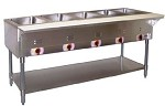 PSST-2 APW Wyott - Hot Well Steam Table, Champion, 2 well, portable. Great for keep
