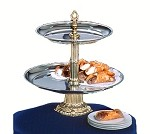 CLA18-14-G Apex Fountains - 2-Tiered Classic Food Display